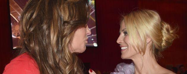Heidi Klum und Caitlyn Jenner