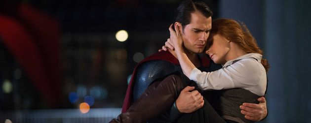 "Henry Cavill und Amy Adams in ""Batman v Superman: Dawn of Justice"""