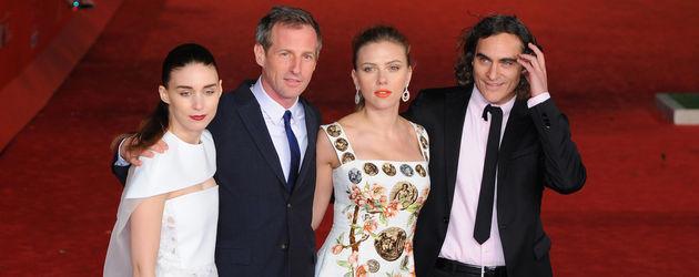 """Rooney Mara, Scarlett Johansson und Joaquin Phoenix bei der """"Her""""-Premiere"""""""