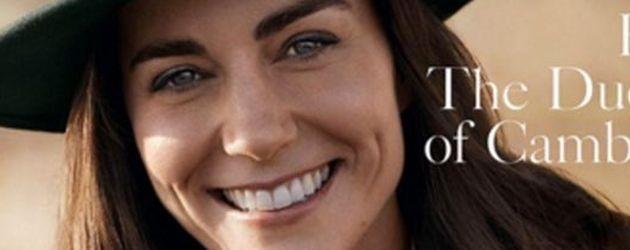 Herzogin Kate auf dem Cover der britischen Vogue