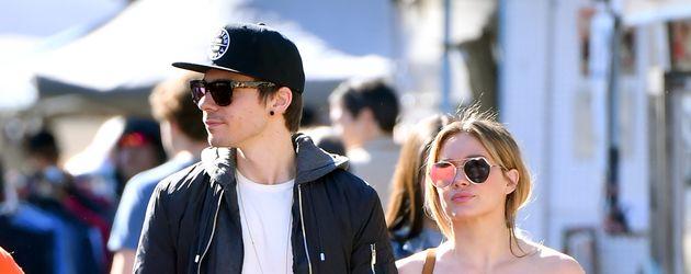 Matthew Koma und Hilary Duff unterwegs in L.A.