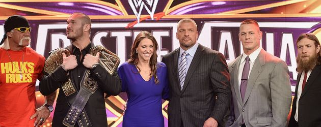 Hulk Hogan, John Cena, Randy Orton und Triple H