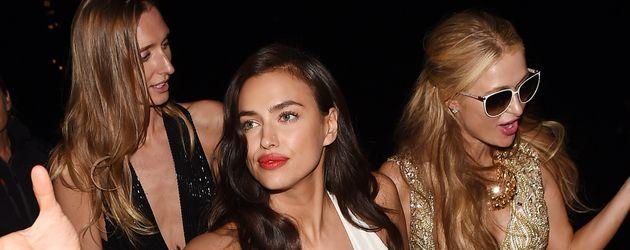 Irina Shayk und Paris Hilton
