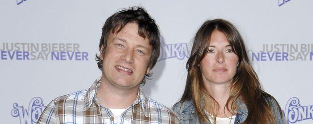 Jamie Oliver und seine Familie