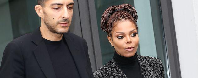 Sängerin Janet Jackson und Ehemann Wissam Al Mana
