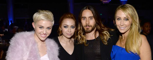 Miley Cyrus und Jared Leto