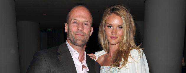Jason Statham und Rosie Huntington-Whiteley in London