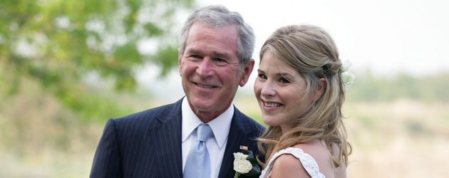 George W. Bush und Jenna Bush-Hager