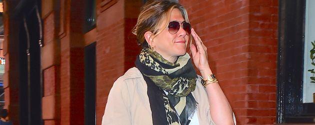 Jennifer Aniston spaziert in New York