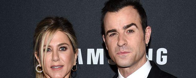 """Jennifer Aniston und Justin Theroux bei der Premiere von """"Zoolander 2"""" in New York"""