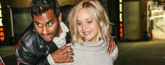 Jennifer Lawrence und Aziz Ansari