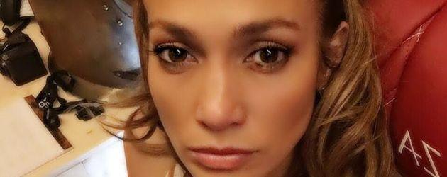 Jennifer Lopez im Studio