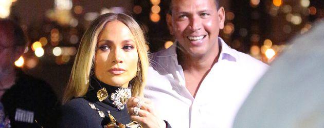 Jennifer Lopez und Alex Rodriguez in New York