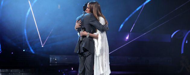 Marc Anthony und Jennifer Lopez in Las Vegas