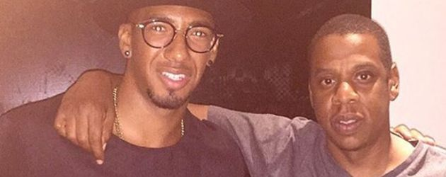 Jerome Boateng und Jay-Z in New York