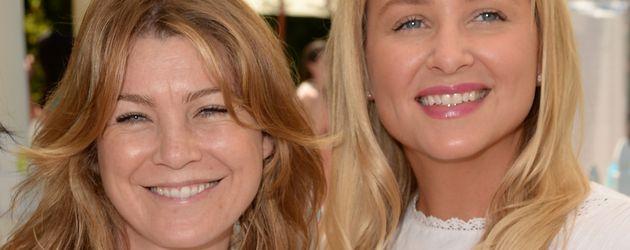 """""""Grey's Anatomy""""-Stars Jessica Capshaw und Ellen Pompeo"""