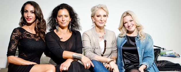 Désirée Nick, Janina Youssefian, Jessica Kastrop und Sandra Speichert
