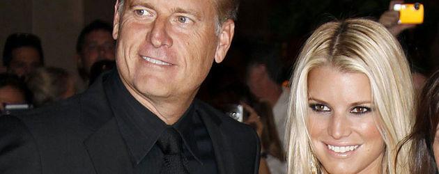 Jessica Simpson und ihr Vater Joe