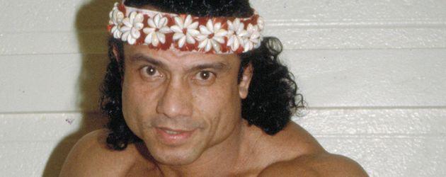 Jimmy 'Superfly' Snuka während seiner aktiven Karriere in den 90ern