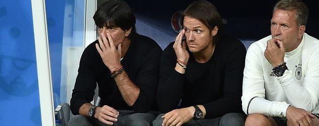 Jogi Löw beim 2. EM-Spiel der Deutschen in Paris