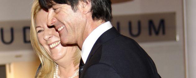 Joachim und Daniela Löw bei dem Deutschen Medienpreis 2011