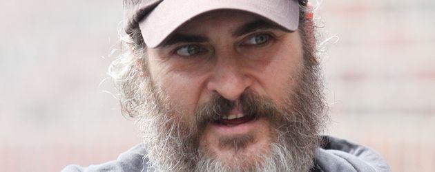 Joaquin Phoenix bei Dreh in Manhatten