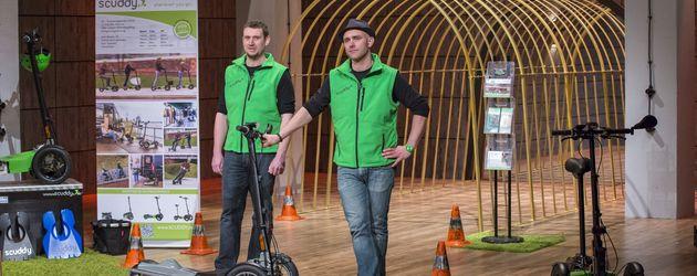 """Jörn Jacobi und Tim Ascheberg stellen Scuddy vor in """"Die Höhle der Löwen"""""""