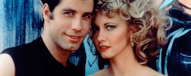 John Travolta und Olivia Newton-John