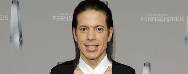 Jorge Gonzales beim Deutschen Fernsehpreis