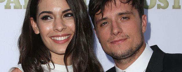 Josh Hutcherson und Claudia Traisac