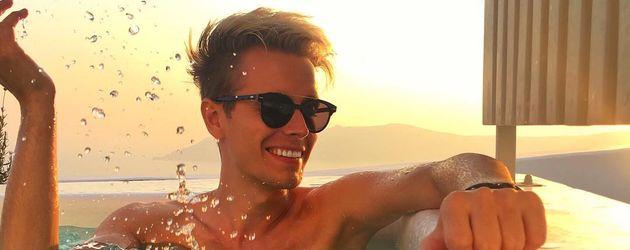Julian Claßen im Urlaub