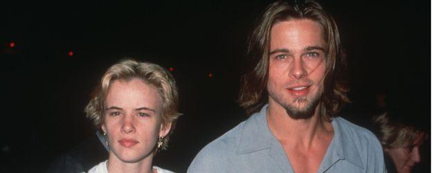 Juliette Lewis und Brad Pitt 1992