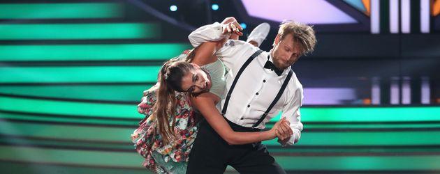 Julius Brink und Ekaterina Leonova