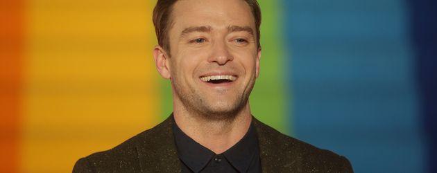 """Justin Timberlake bei der """"Trolls""""-Premiere"""