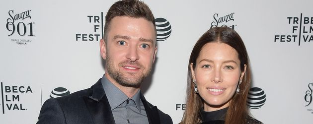 Justin Timberlake und Jessica Biel beim Tribeca Film Festival