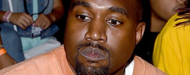 Kanye West im Juni 2011 bei einer Modenschau in Los Angeles