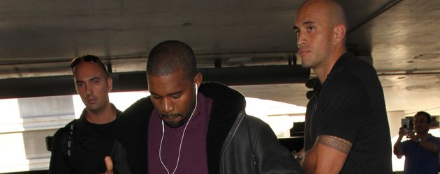 Kanye West im November 2016 am Flughafen Los Angeles