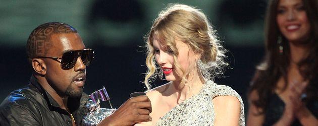 Kanye West und Taylor Swift bei den MTV VMAs 2009