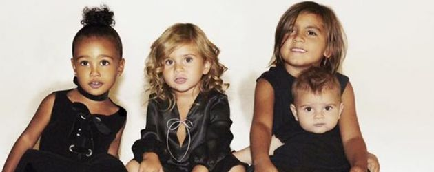 North West, Penelope Disick, Reign Disick und Mason Disick