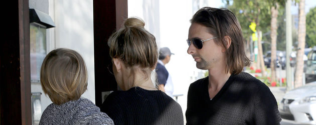 Kate Hudson, Matthew Bellamy und Bingham Hawn Bellamy