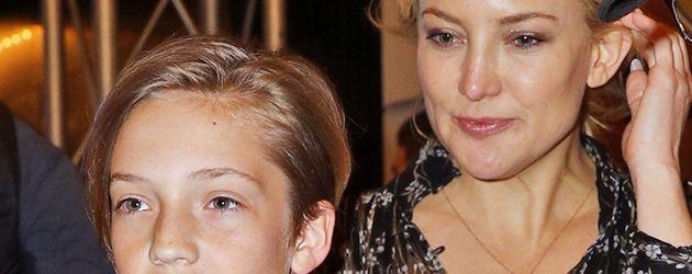 Kate Hudson und Sohn Ryder Robinson 2016 zusammen in New York