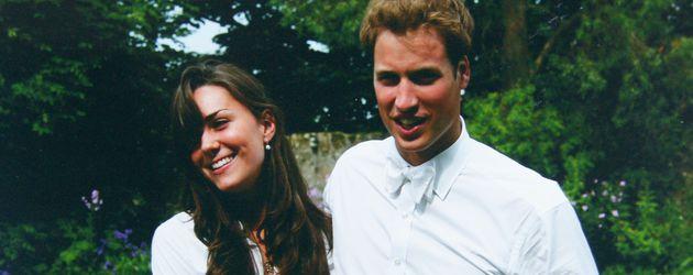 Kate Middleton und Prinz William als Studenten