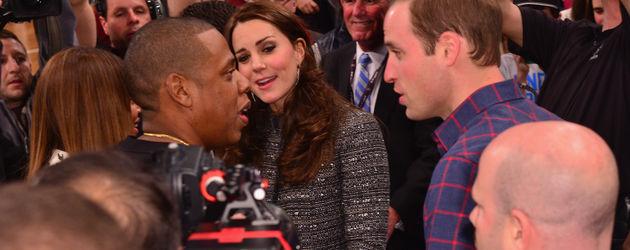 Herzogin Kate, Beyonce, Prinz William und Jay-Z