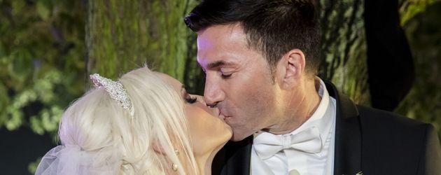 Daniela Katzenberger & Lucas Cordalis auf ihrer Hochzeit