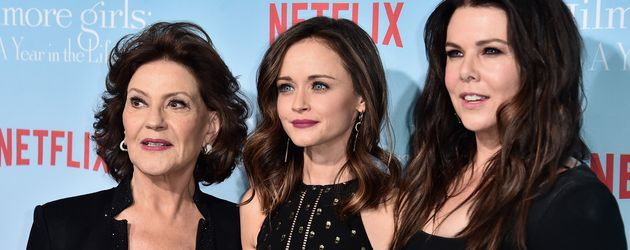 Kelly Bishop, Alexis Bledel und Lauren Graham in LA