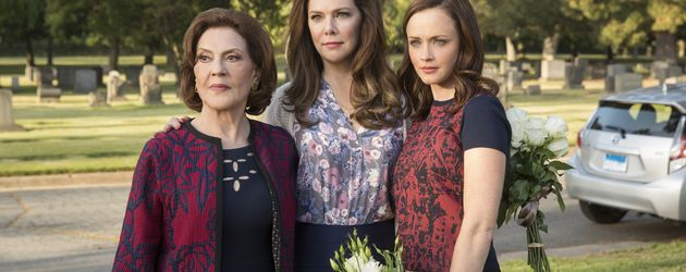 "Kelly Bishop, Lauren Graham und Alexis Bledel in der neuen Staffel ""Gilmore Girls"""