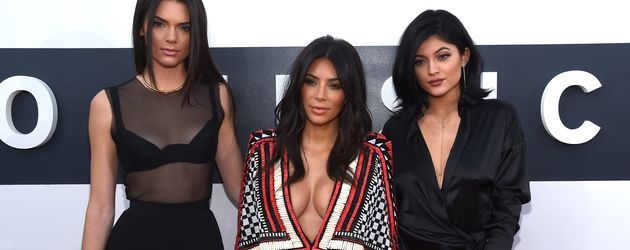 Kendall Jenner, Kim Kardashian und Kylie Jenner bei den MTV Video Music Awards 2014