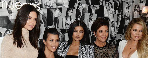 Khloe Kardashian, Kylie Jenner, Kendall Jenner, Kourtney Kardashian und Kris Jenner