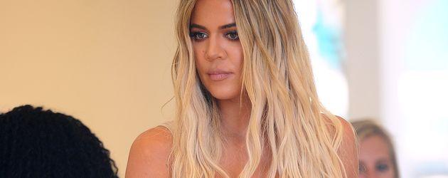 Khloe Kardashian beim Shoppen in Miami