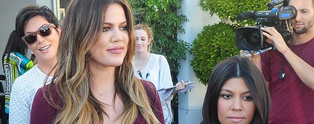 Reality-Stars Khloe und Kourtney Kardashian in Beverly Hills